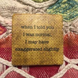 artist Other - True Statement Coaster